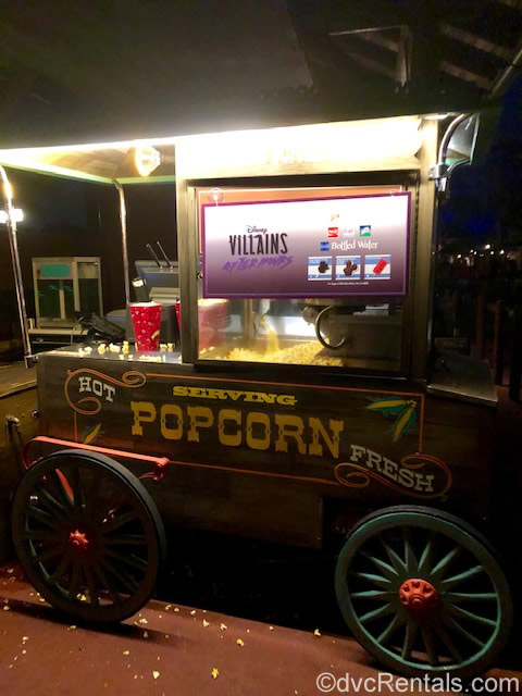 Popcorn Wagon at the Magic Kingdom