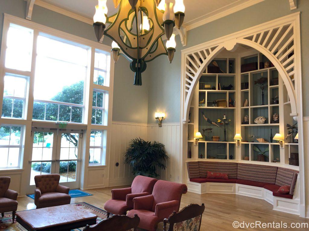 Breezeway at Disney's Beach Club Villas