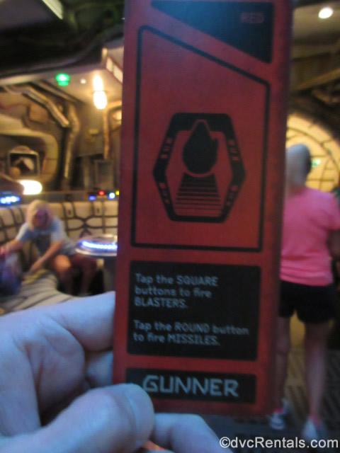 Gunner card for Millennium Falcon: Smugglers Run