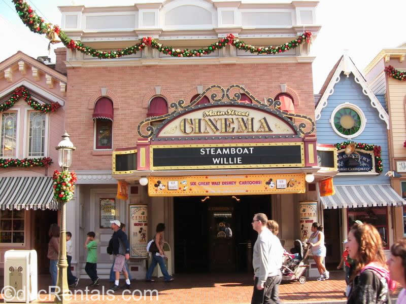 Main Street Cinema from Disneyland