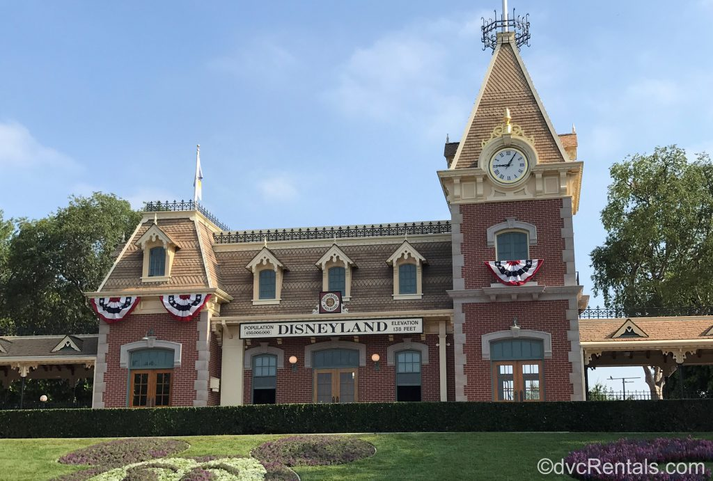 Train Station at Disneyland