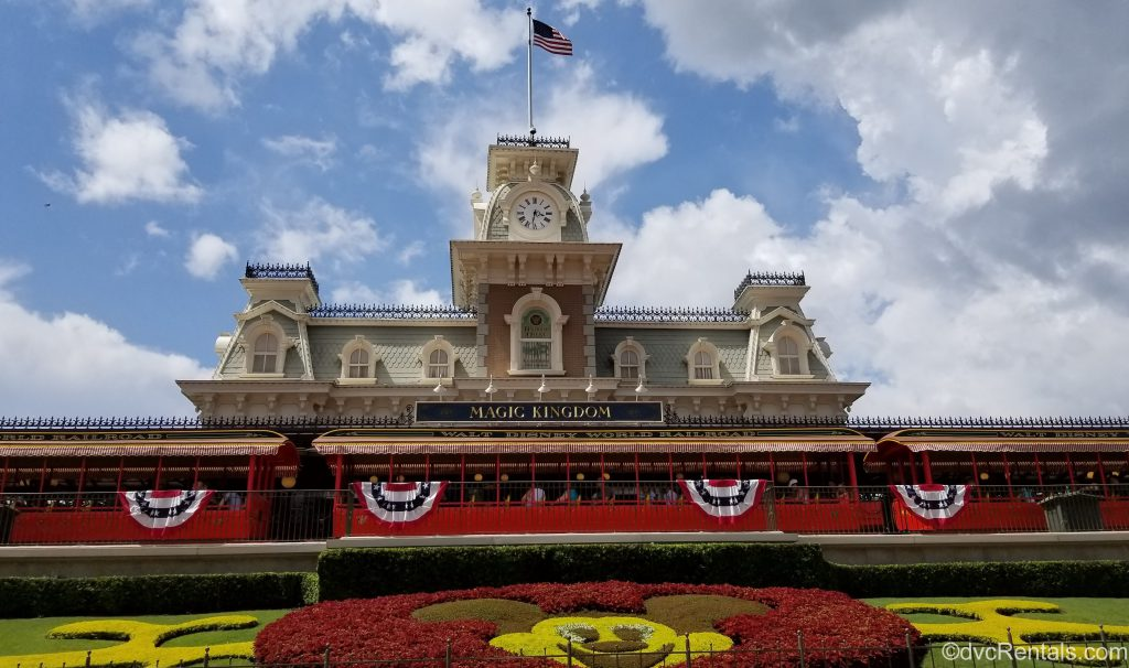 Train Station at the Magic Kingdom