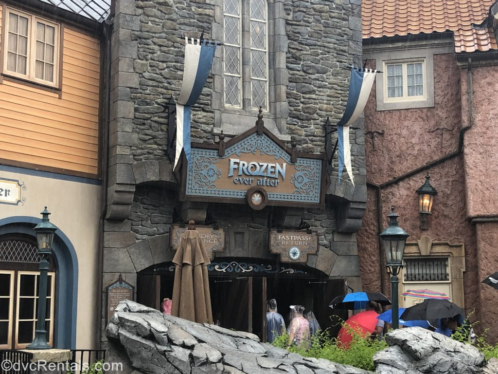Frozen Ever After Sign at Epcot