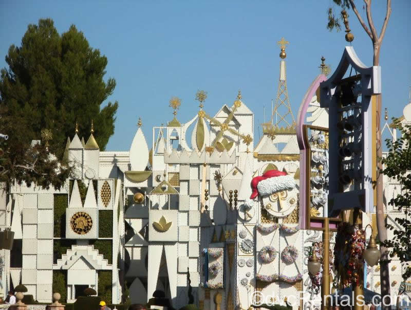 Its a Small World Exterior Disneyland