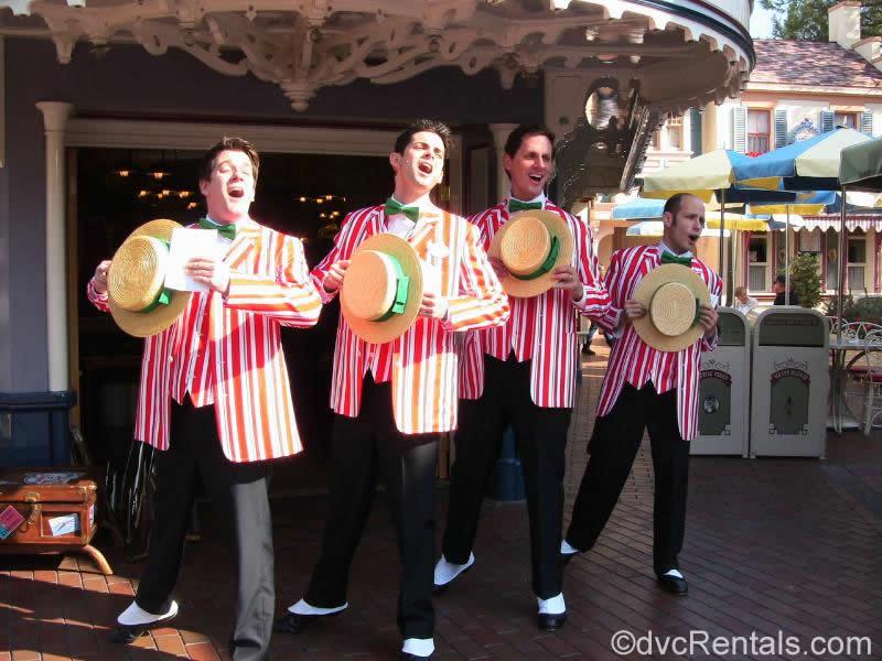 Dapper Dans Disneyland