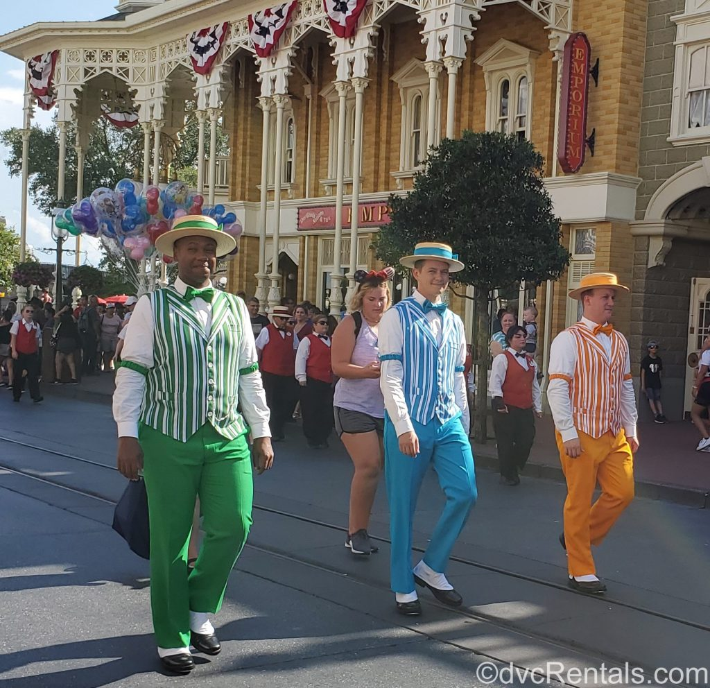 Dapper Dans at the Magic Kingdom