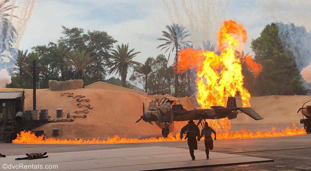 Indiana Jones Epic stunt Spectacular from Disney's Hollywood Studios