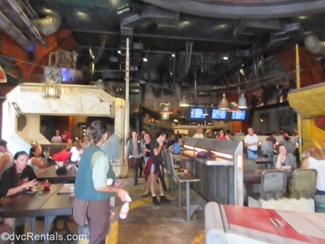 Counter Service Restaurant at Star Wars: Galaxy's Edge
