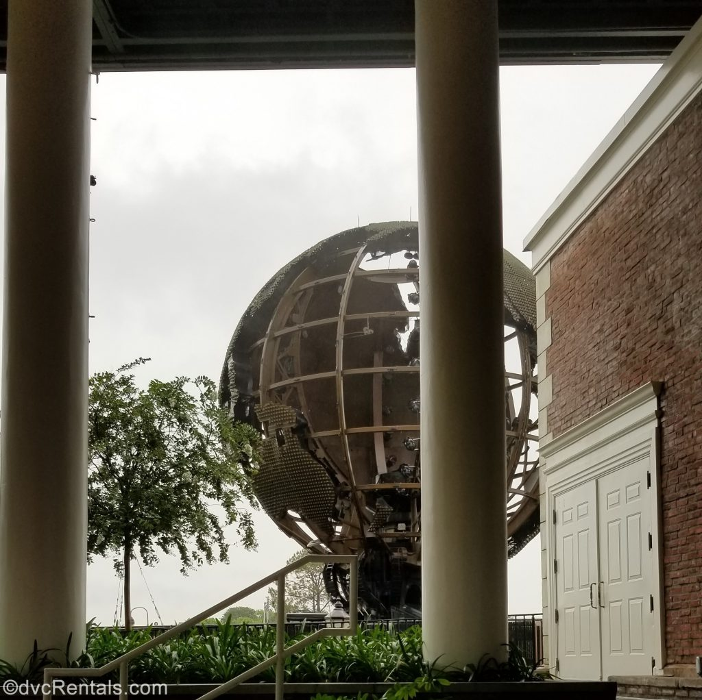 Earth globe at Epcot