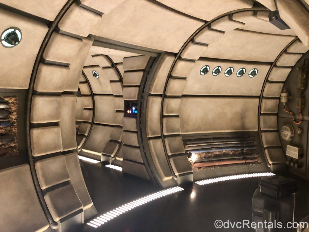 Millennium Falcon hallway