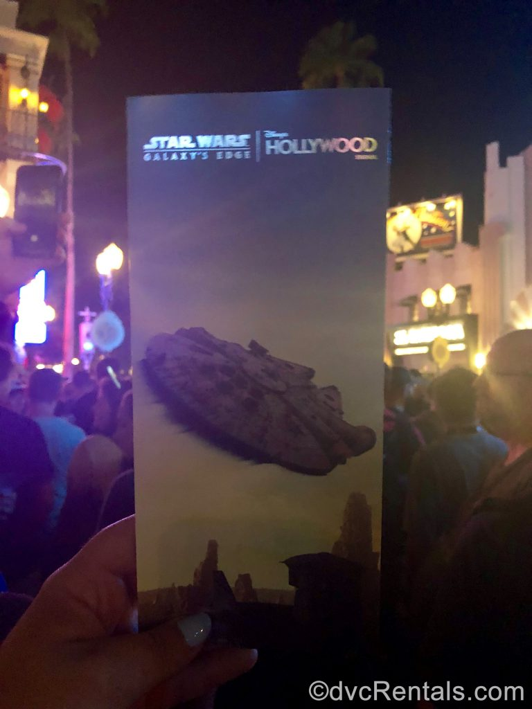 Star Wars Land Brochure