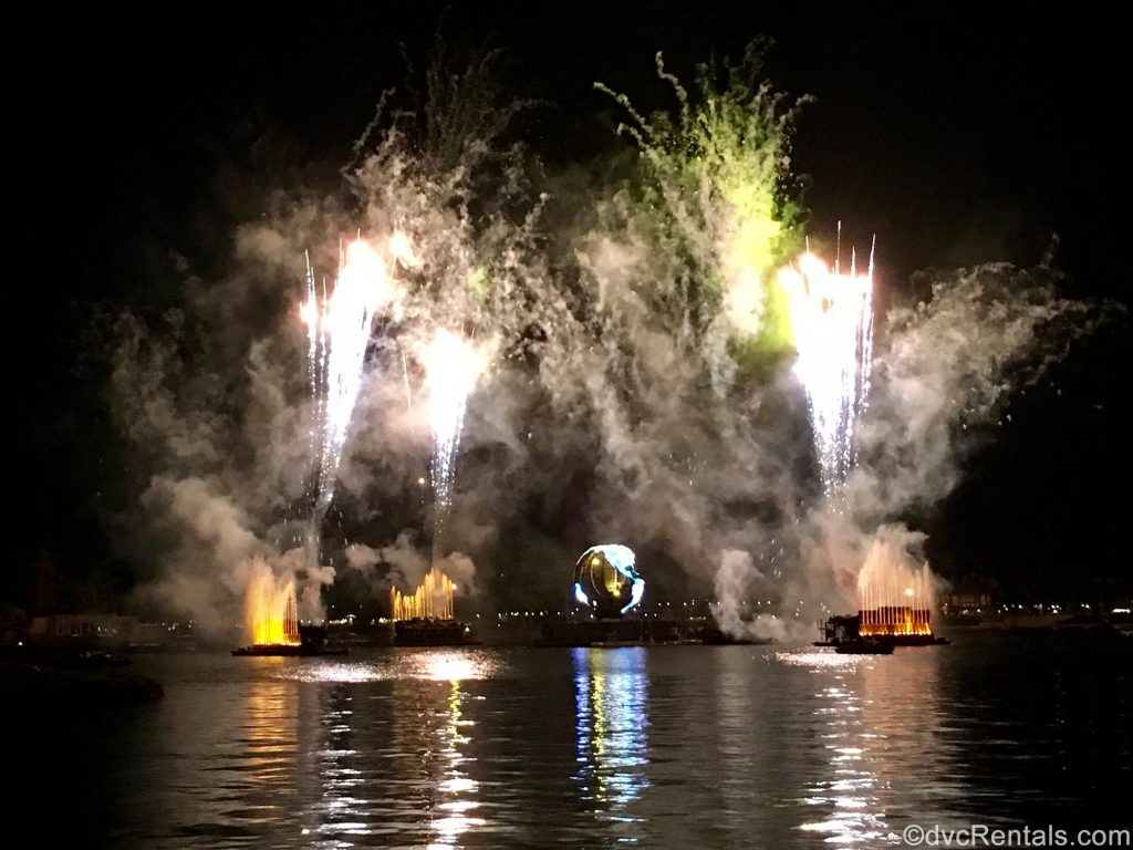 Illuminations at Epcot