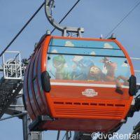 Skyliner gondola at WDW