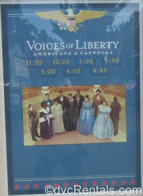 Voices of Liberty sign