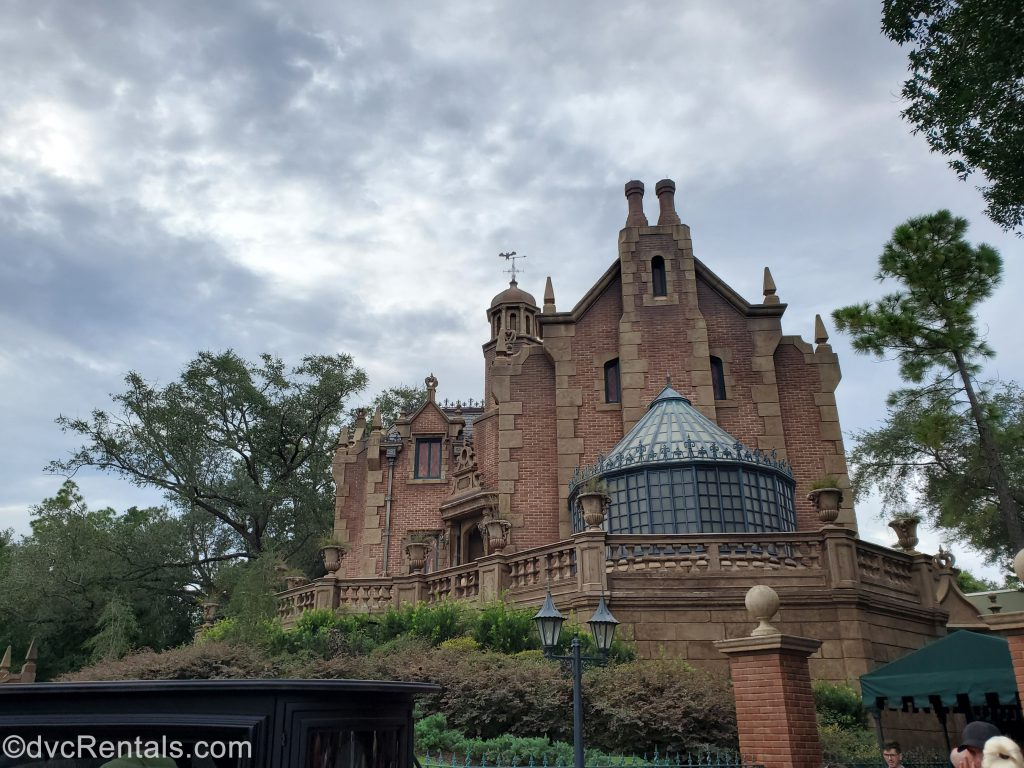 Exterior image of the Haunted Mansion