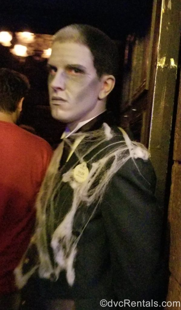 Cast Member at the Haunted Mansion
