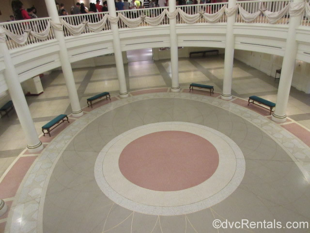 Rotunda where the Voices of Liberty Perform