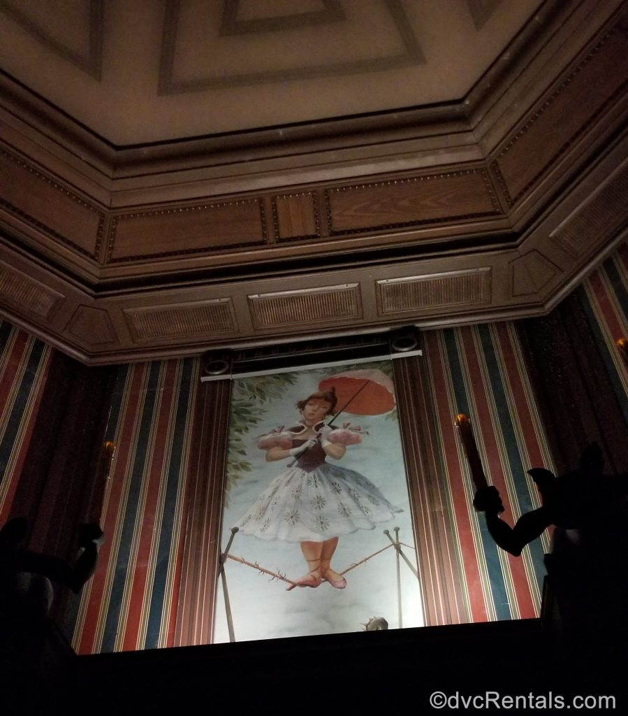 Tightrope Dancer picture in the Haunted Mansion