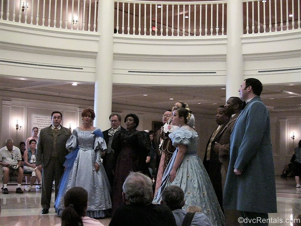 Voices of Liberty at the American Pavilion in Epcot