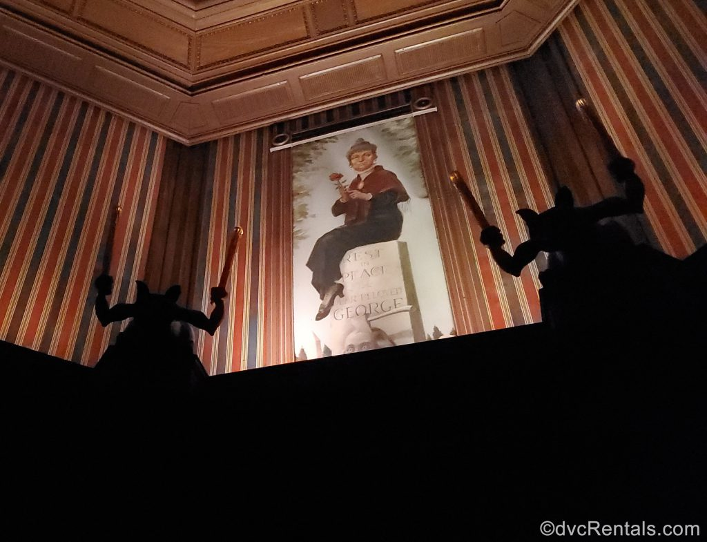 Widow picture in the Haunted Mansion