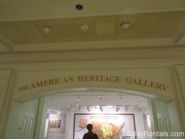 American Heritage Gallery sign