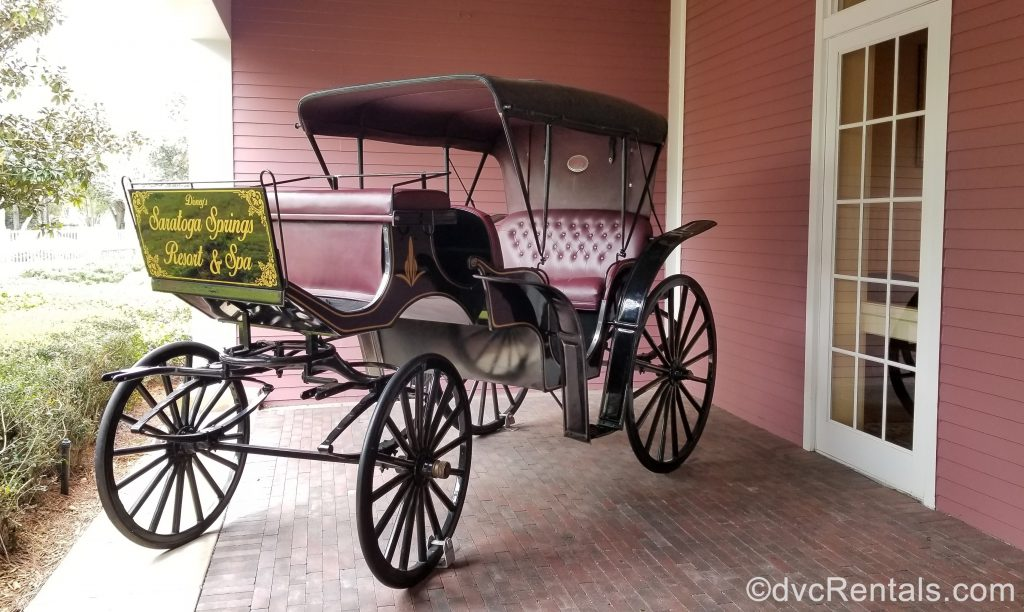 Carriage at Disney's Saratoga Springs Resort & Spa