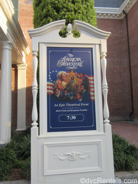 American Adventure sign