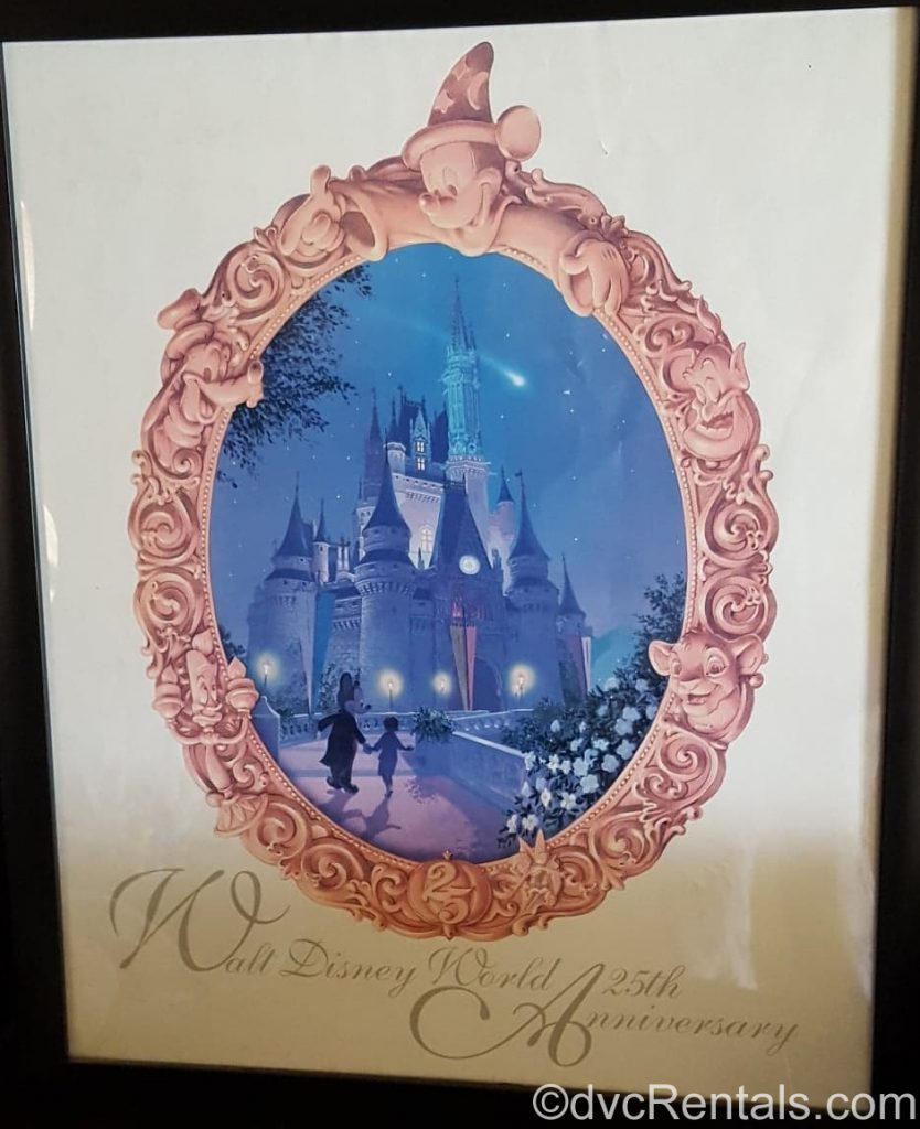 WDW's 25th Anniversary poster
