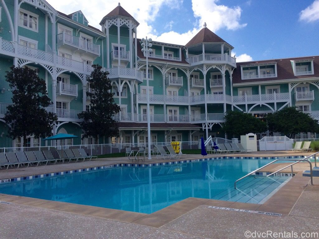 Leisure pool at Disney's Beach Club Villas
