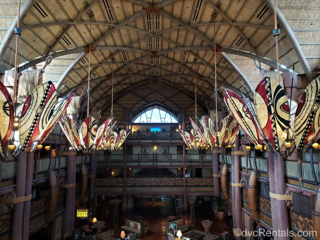 Lobby at Disney's Animal Kingdom – Jambo House