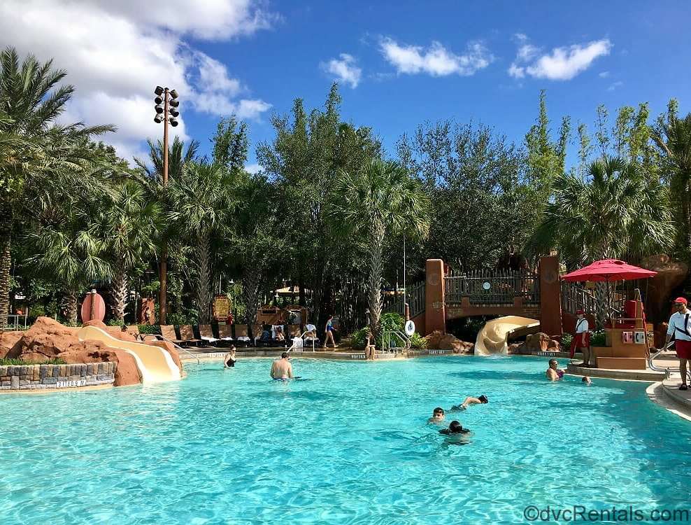 pool area at Disney's Animal Kingdom Villas