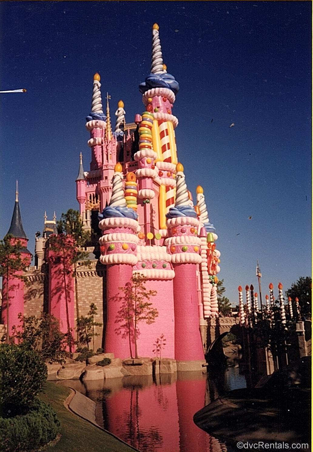Walt Disney World/'s 25th Anniversary Candy Cake Castle Inspired Acrylic Pin
