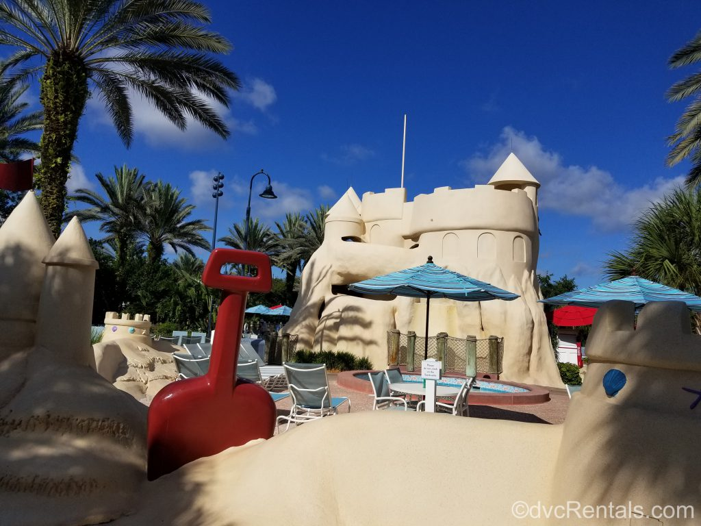 Sandcastle pool at Disney's Old Key West