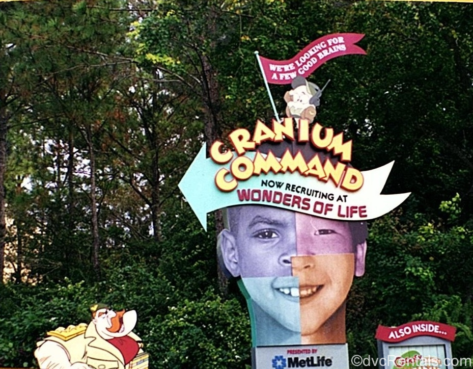 Cranium Command Sign