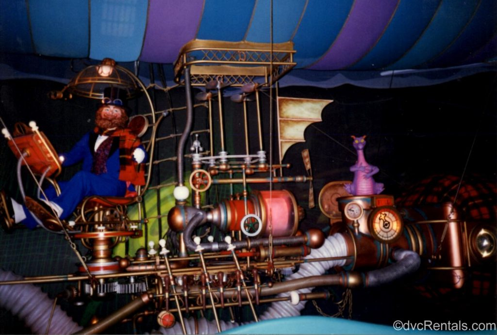 Figment attraction at Epcot
