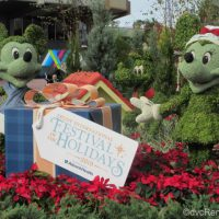 Topiary for the Epcot International Festival of the Holidays