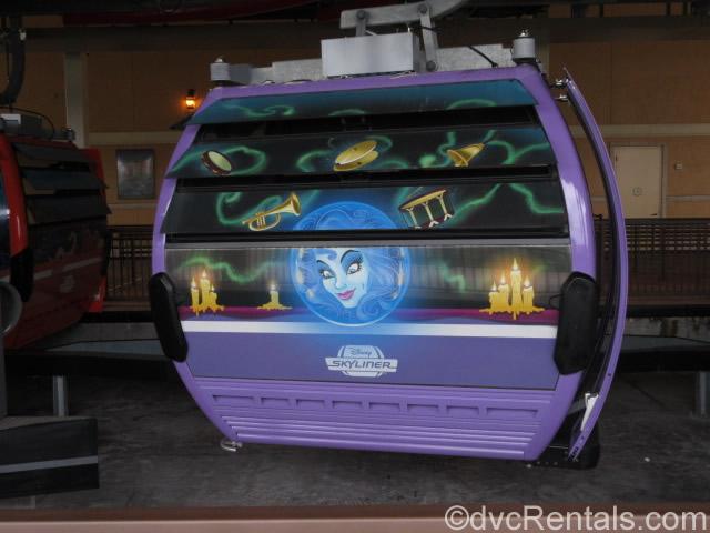 Haunted Mansion gondola