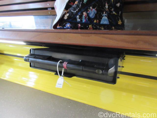 Emergency kit inside each Skyliner gondola
