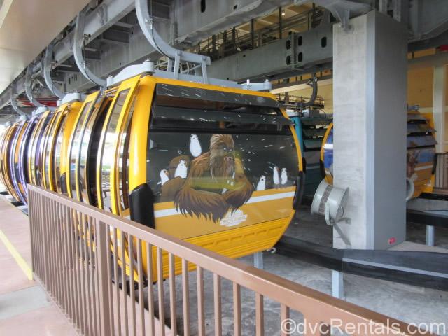 Chewbacca themed Skyliner gondola