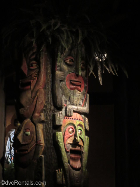 Totem Poles from the Enchanted Tiki Room