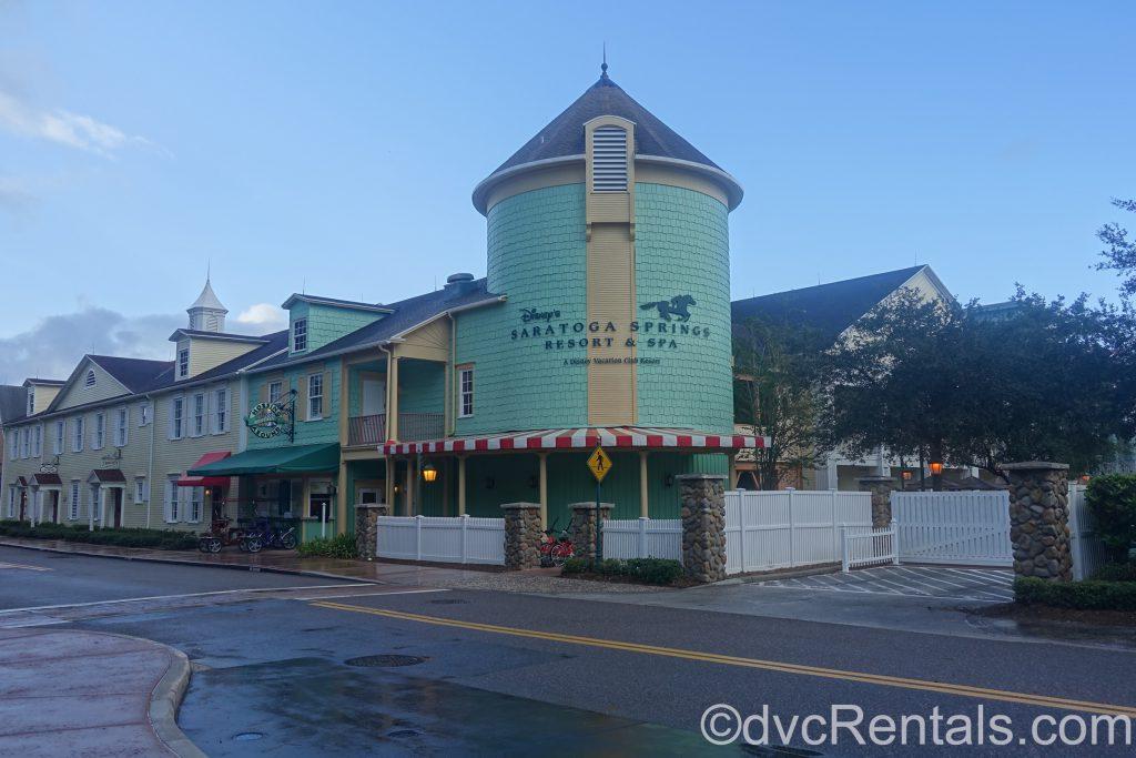 Buildings at Disney's Saratoga Springs Resort & Spa