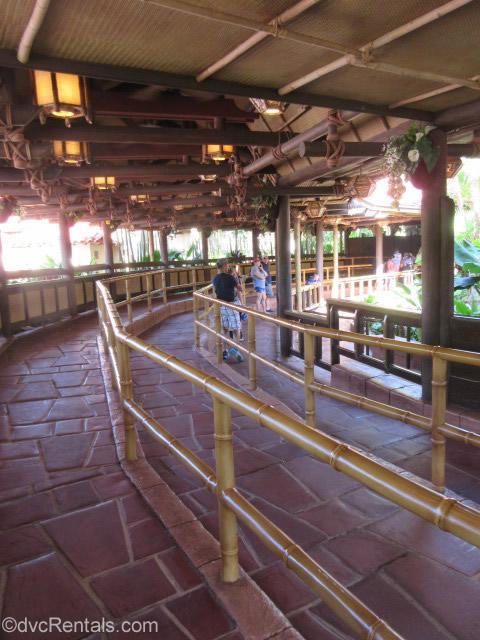 Tunstile line for the Enchanted Tiki Room