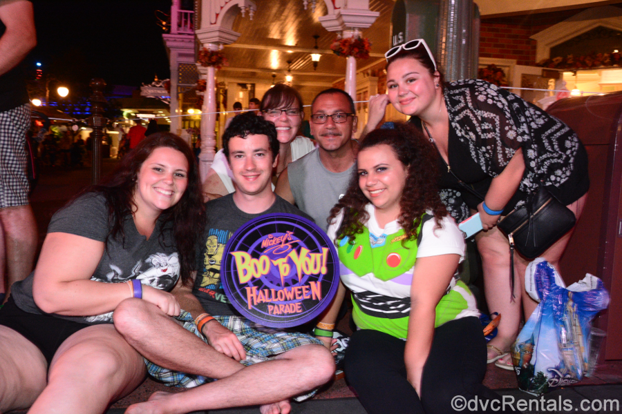 Team Member Alyssa and her family at the Magic Kingdom