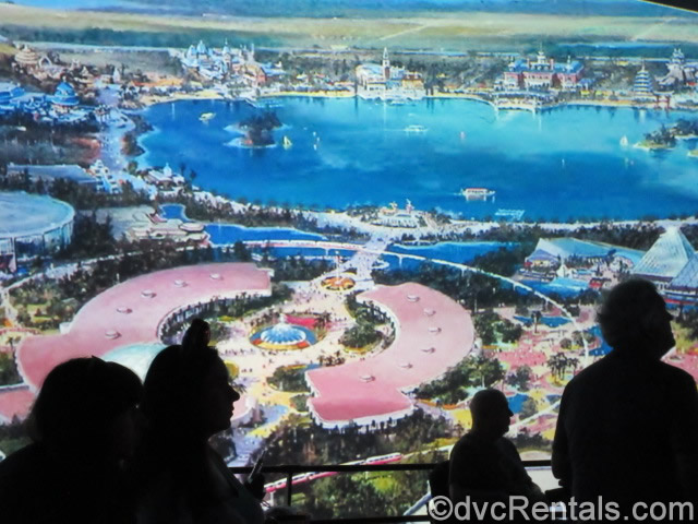 Rendering of the completed construction projects at Epcot