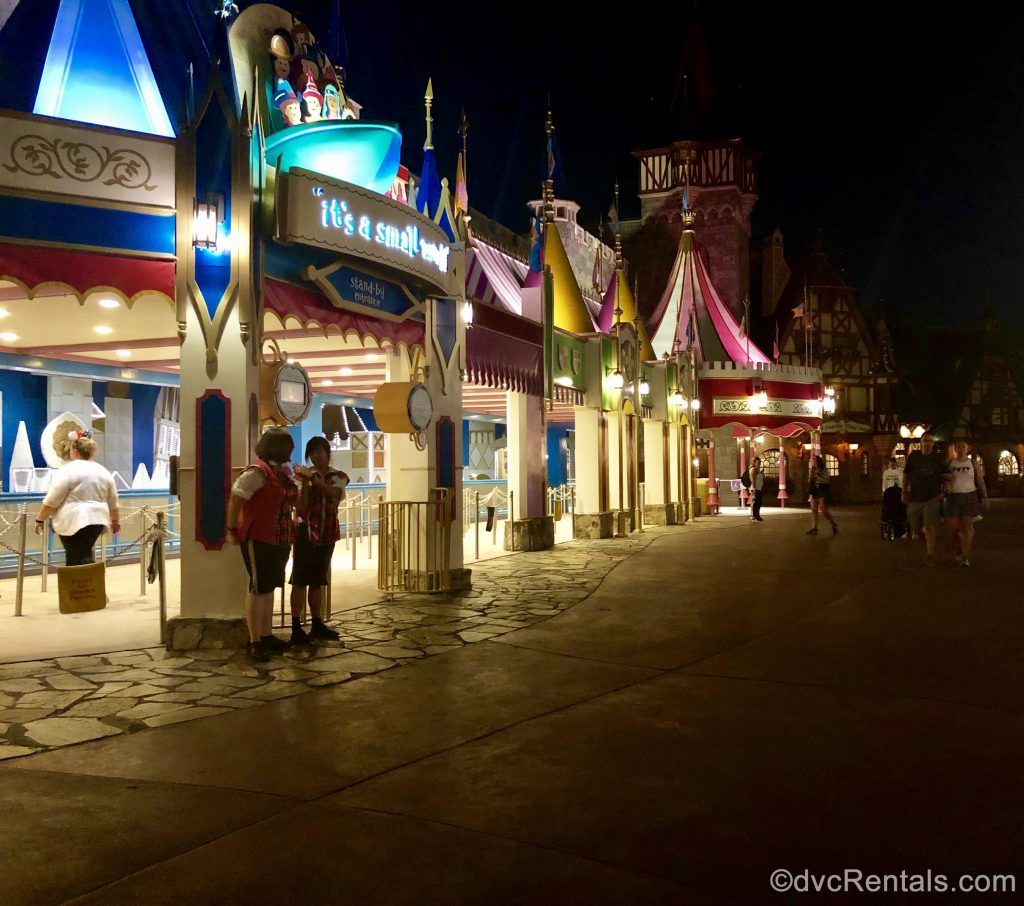 Fantasyland in Dinsey's Magic Kingdom