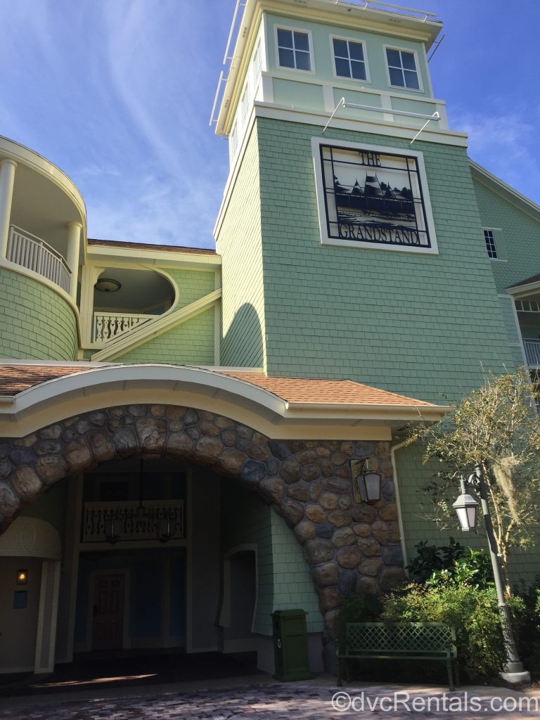 Grandstand area of Disney's Saratoga Springs Resort & Spa