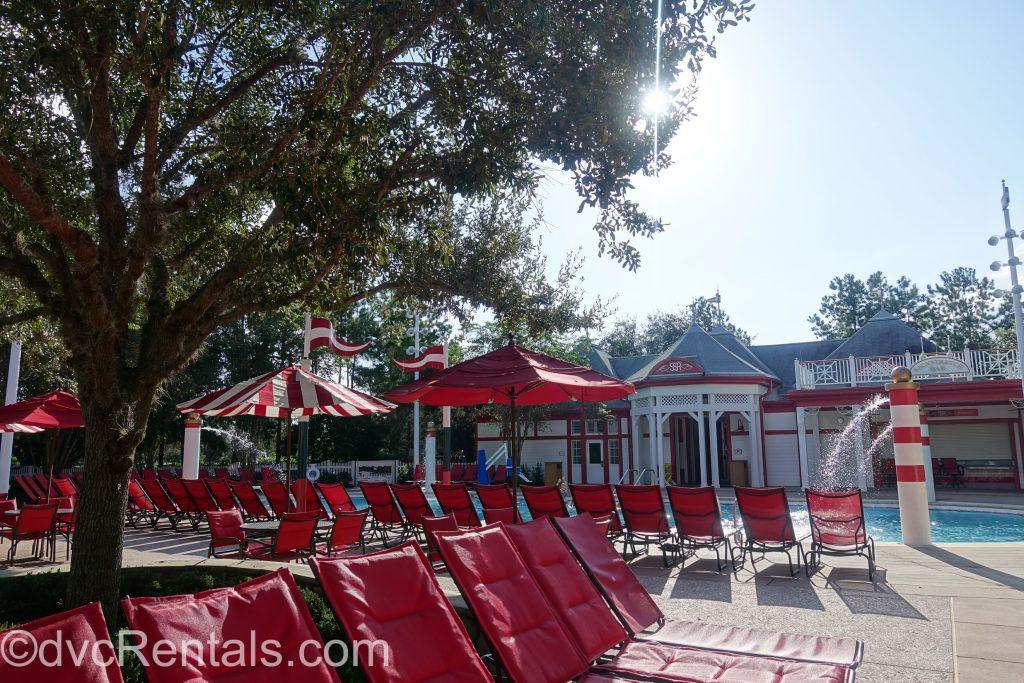 Grandstand pool at Disney's Saratoga Springs Resort & Spa