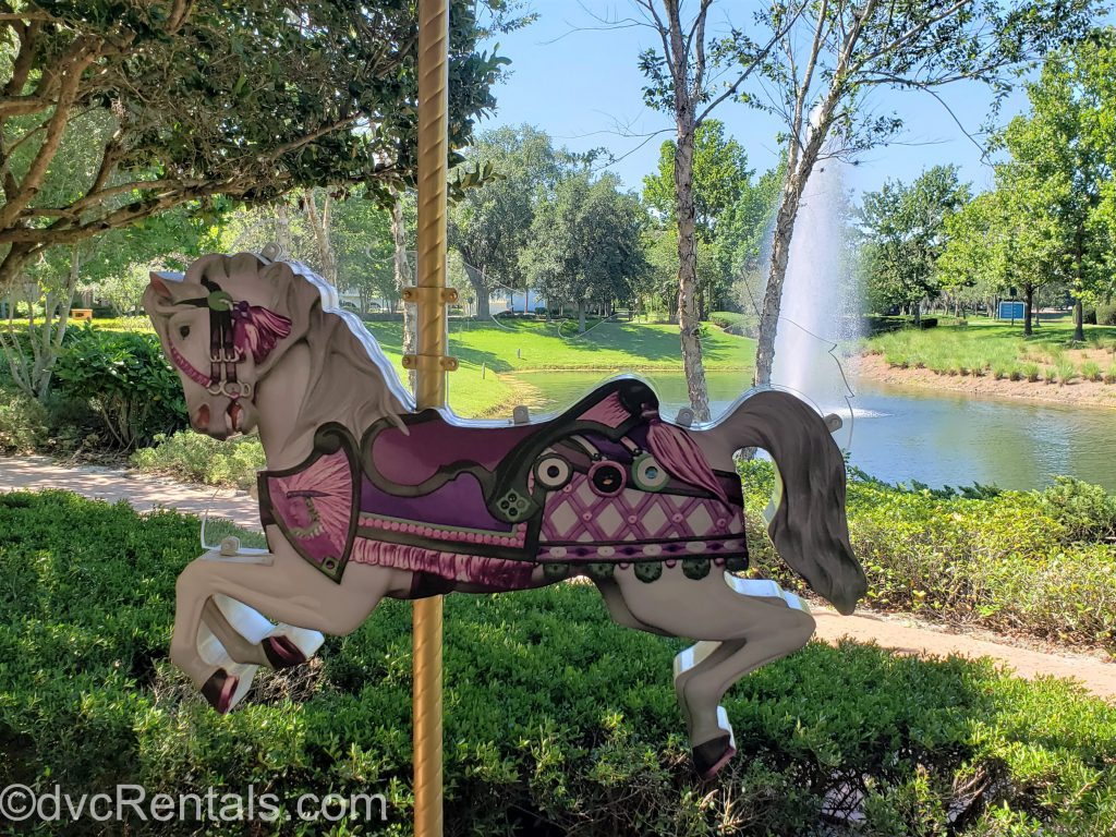 Carousel section at Disney's Saratoga Springs Resort & Spa