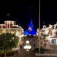 Cinderella Castle and Mainstreet USA at Disney's Magic Kingdom