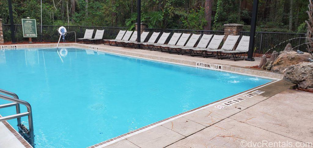 Treehouse pool at Disney's Saratoga Springs Resort & Spa